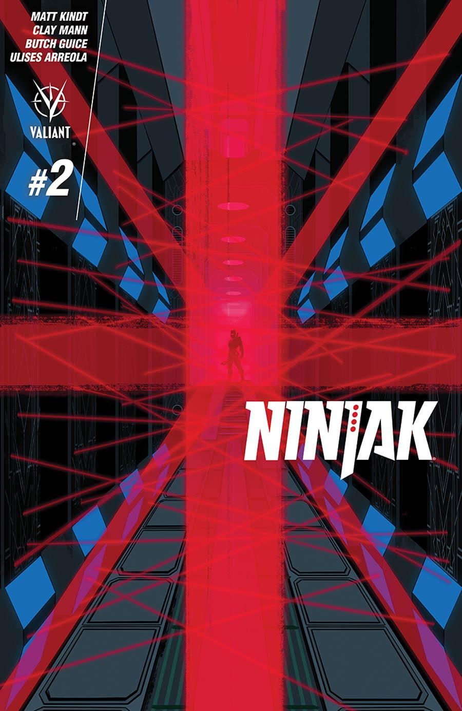 Ninjak Vol 3 #2 Cover D Incentive Raul Allen Variant Cover