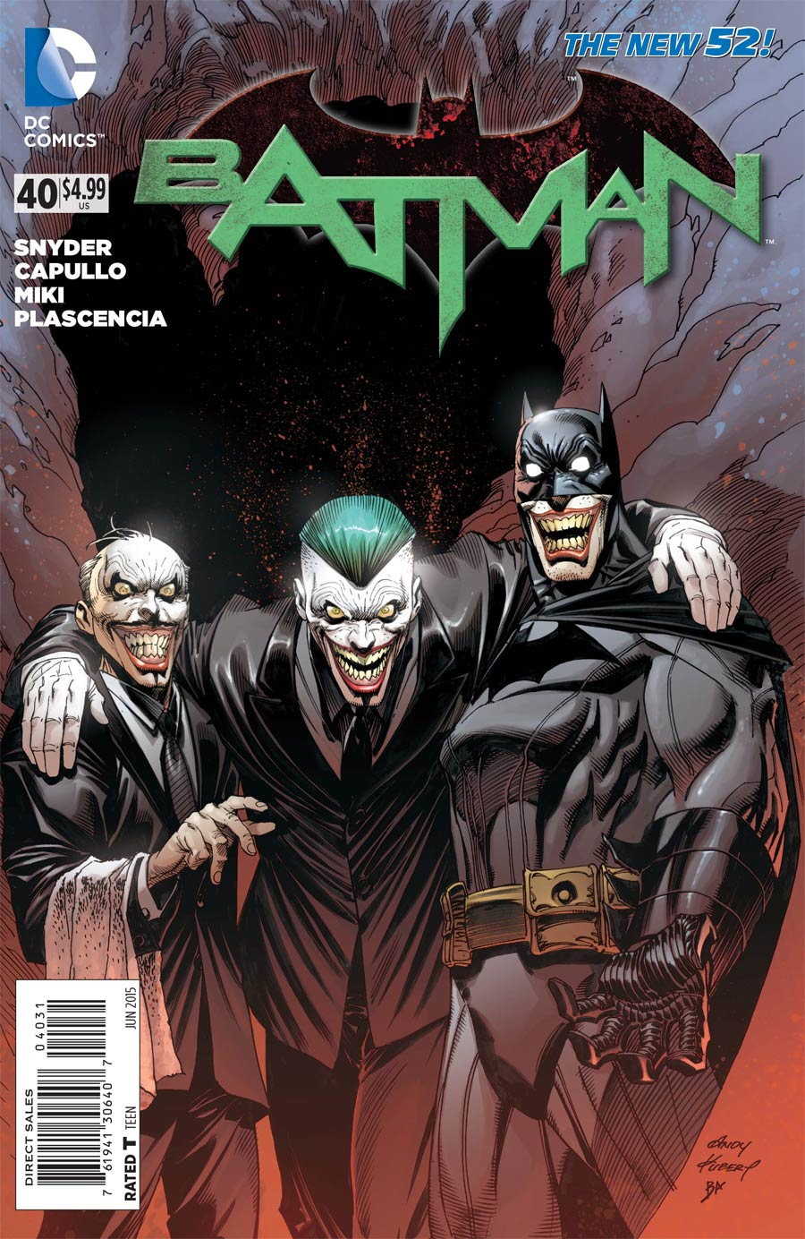 Batman Vol 2 #40 Cover E Incentive Andy Kubert Variant Cover (Endgame Tie-In)