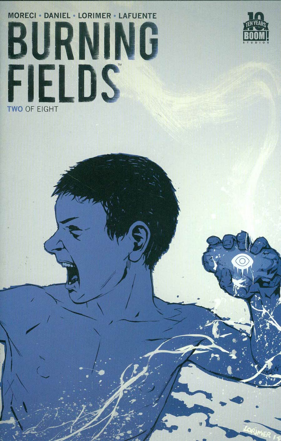 Burning Fields #2 Cover C 2nd Ptg Colin Lorimer Variant Cover