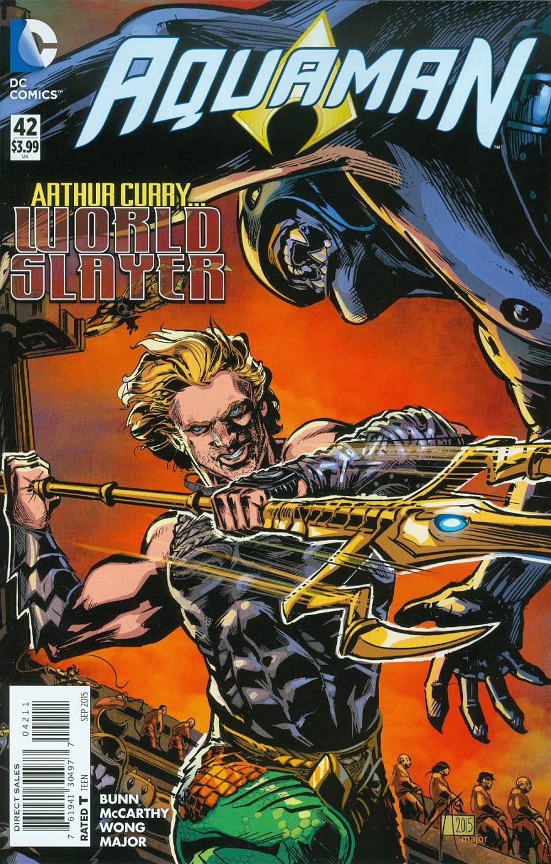 Aquaman Vol 5 #42 Cover A Regular Trevor McCarthy Cover