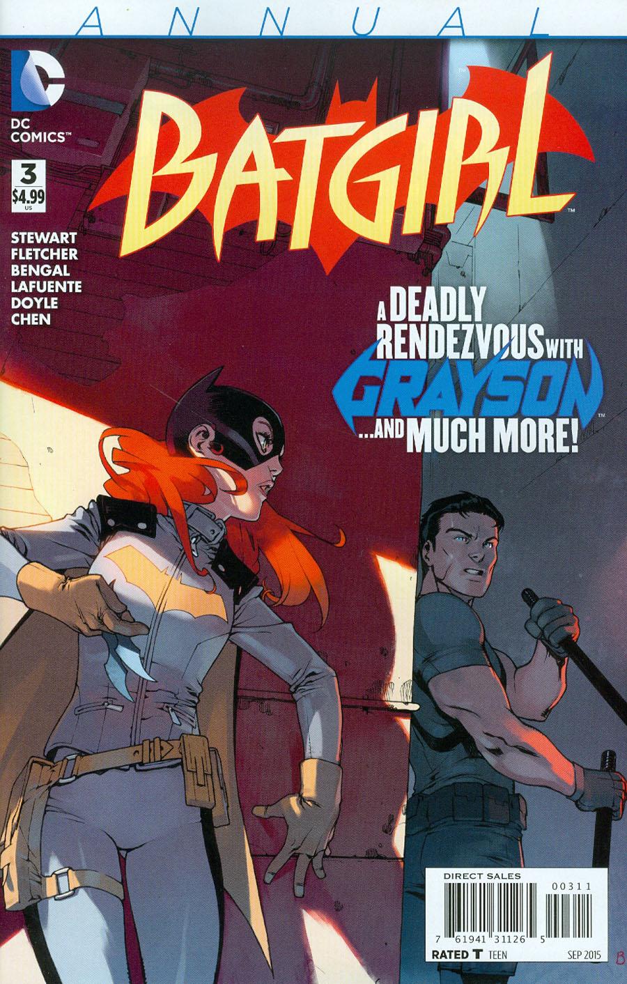 Batgirl Vol 4 Annual #3
