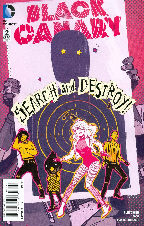 Black Canary Vol 4 #2 Cover A Regular Annie Wu Cover