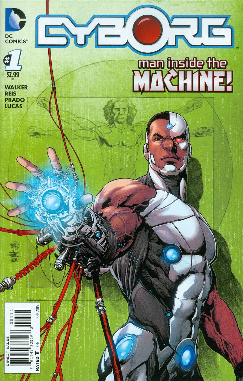 Cyborg #1 Cover A Regular Ivan Reis Cover