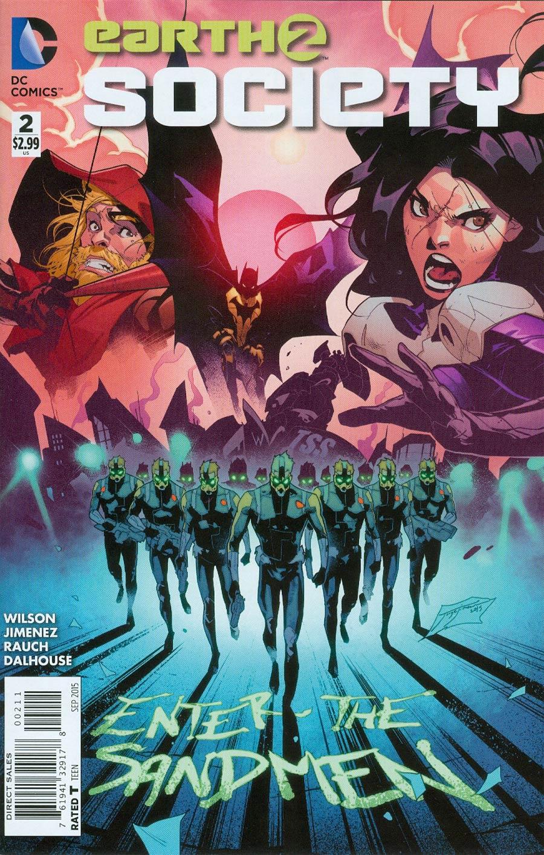 Earth 2 Society #2 Cover A Regular Jorge Jimenez Cover