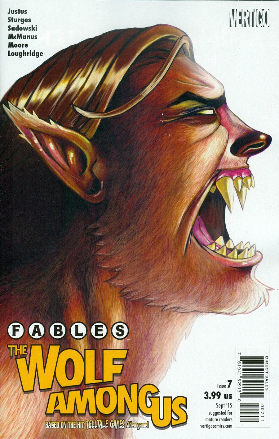 Fables The Wolf Among Us #7
