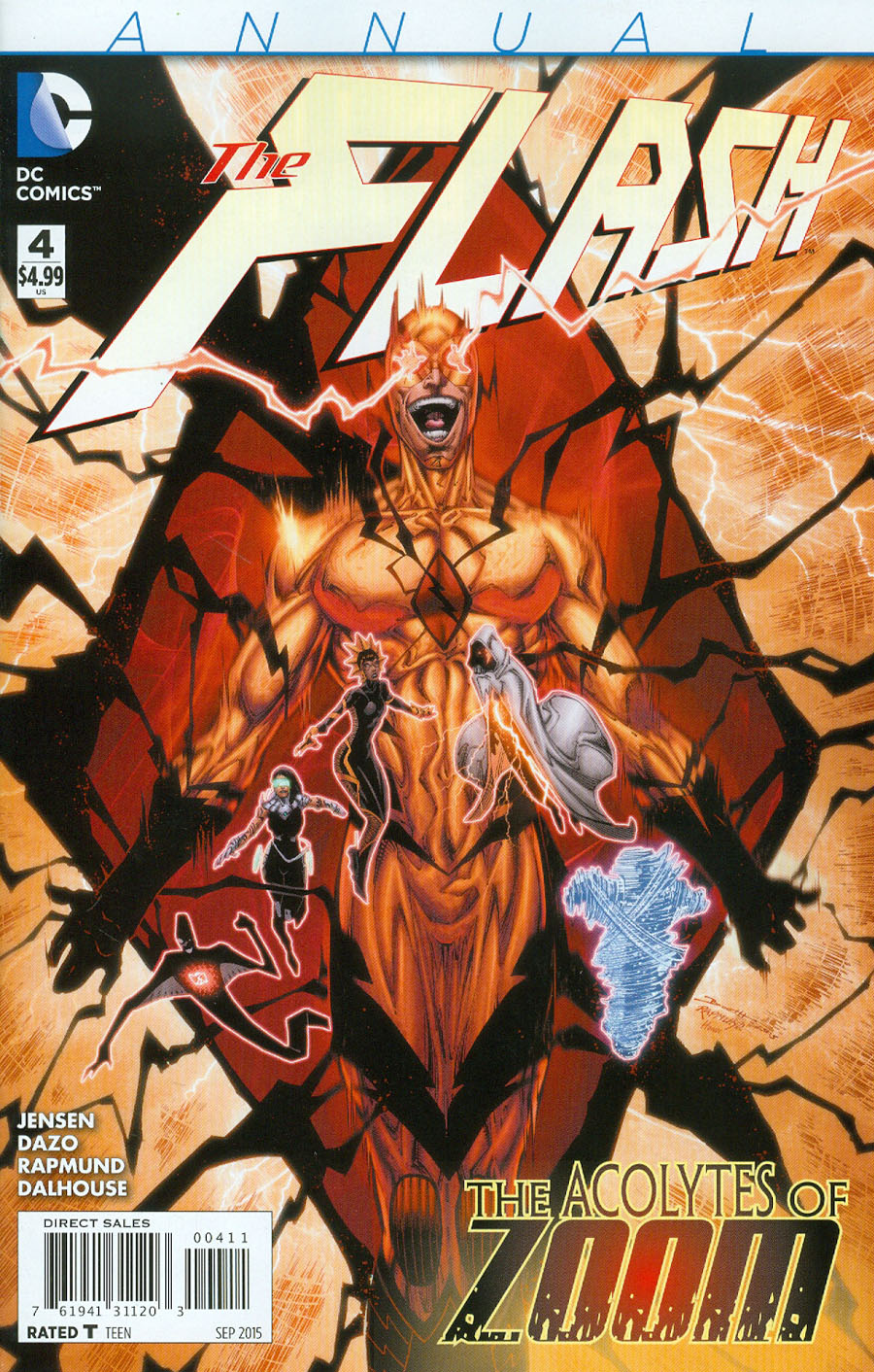 Flash Vol 4 Annual #4