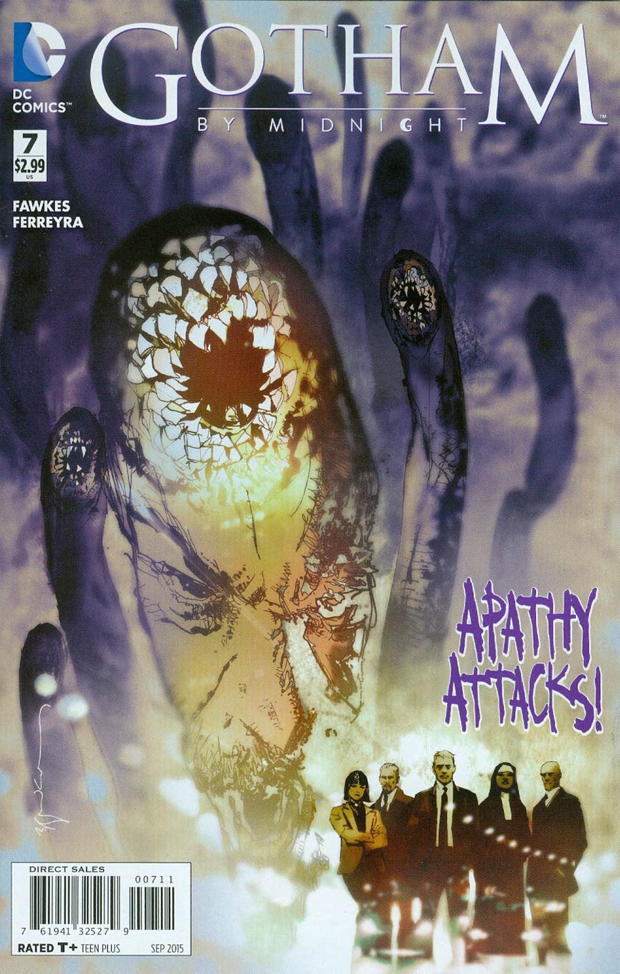 Gotham By Midnight #7 Cover A Regular Bill Sienkiewicz Cover