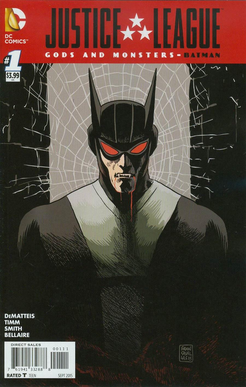Justice League Gods And Monsters Batman #1 Cover A Regular Francesco Francavilla Cover