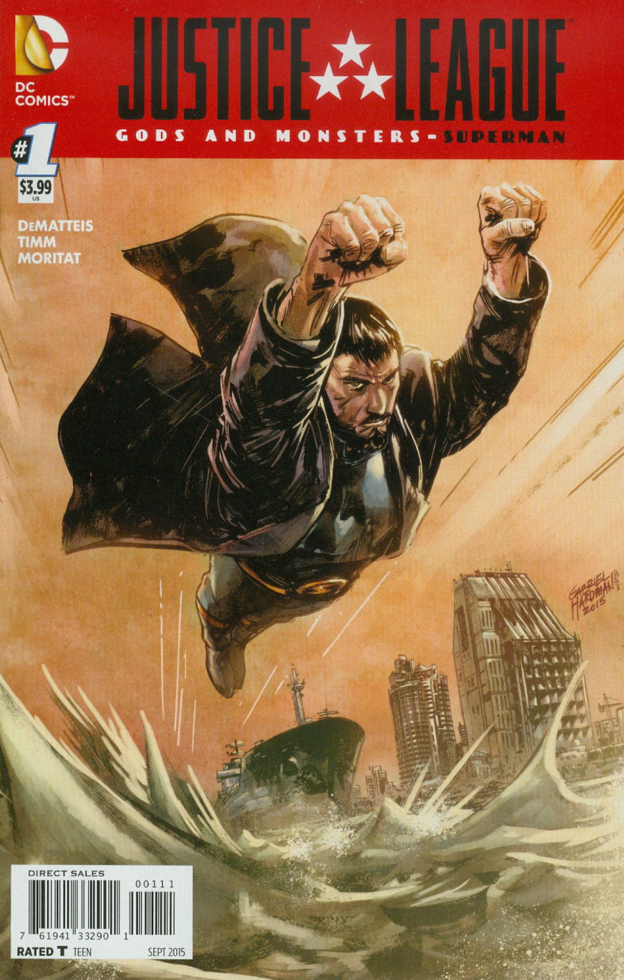 Justice League Gods And Monsters Superman #1 Cover A Regular Gabriel Hardman Cover