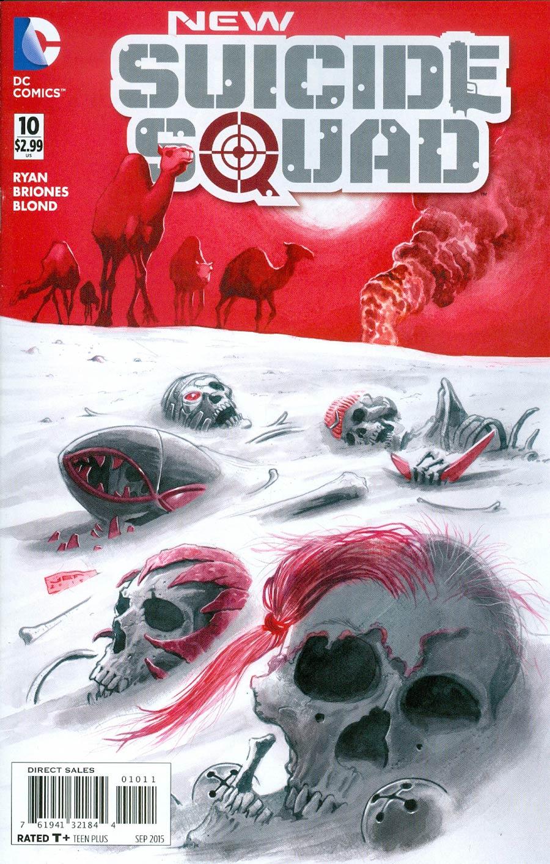 New Suicide Squad #10 Cover A Regular Juan Ferrerya Cover
