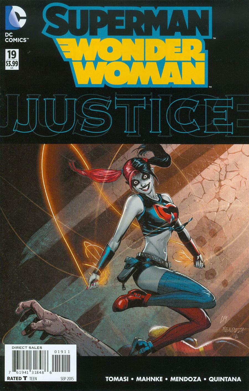 Superman Wonder Woman #19 Cover A Regular Doug Mahnke Cover