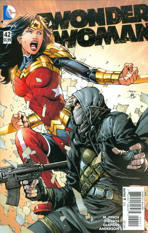 Wonder Woman Vol 4 #42 Cover A Regular David Finch Cover