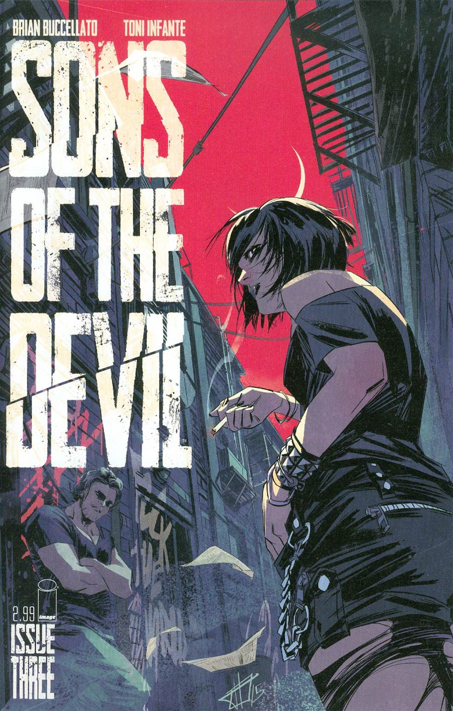 Sons Of The Devil #3 Cover A Toni Infante