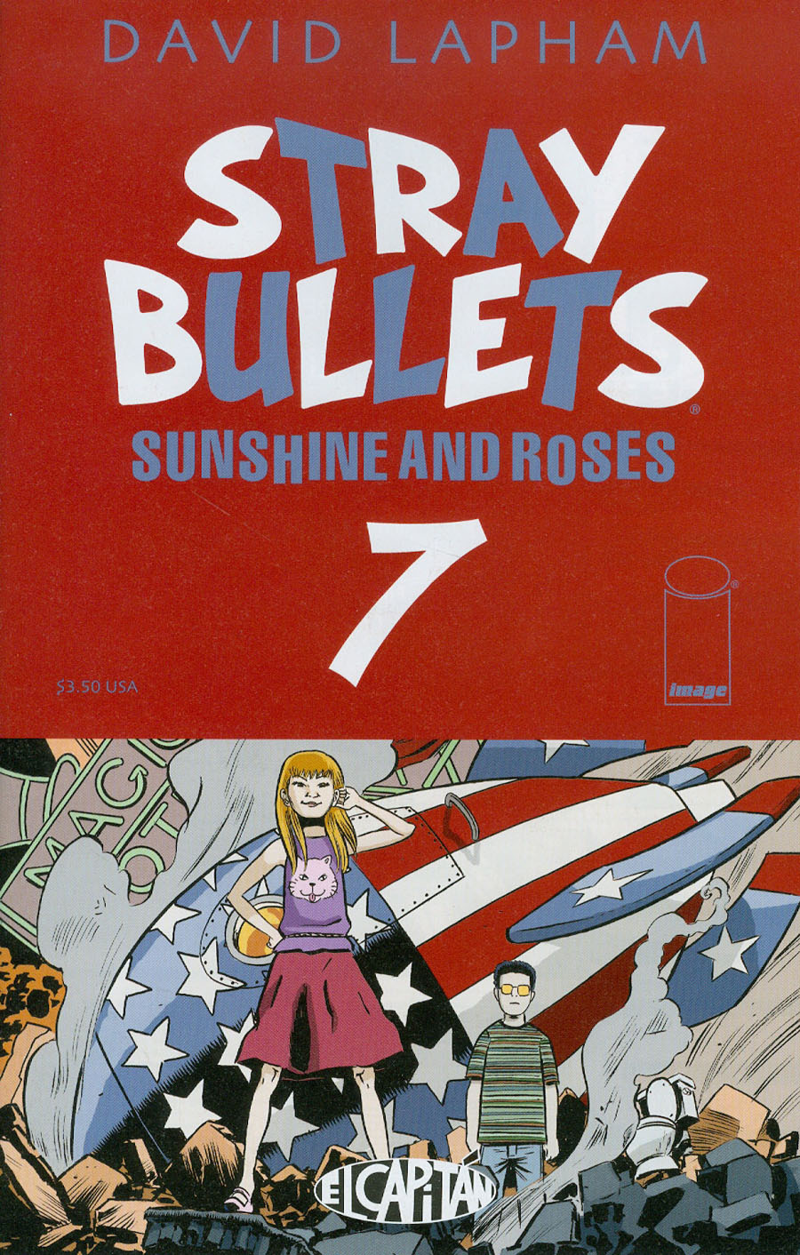 Stray Bullets Sunshine And Roses #7