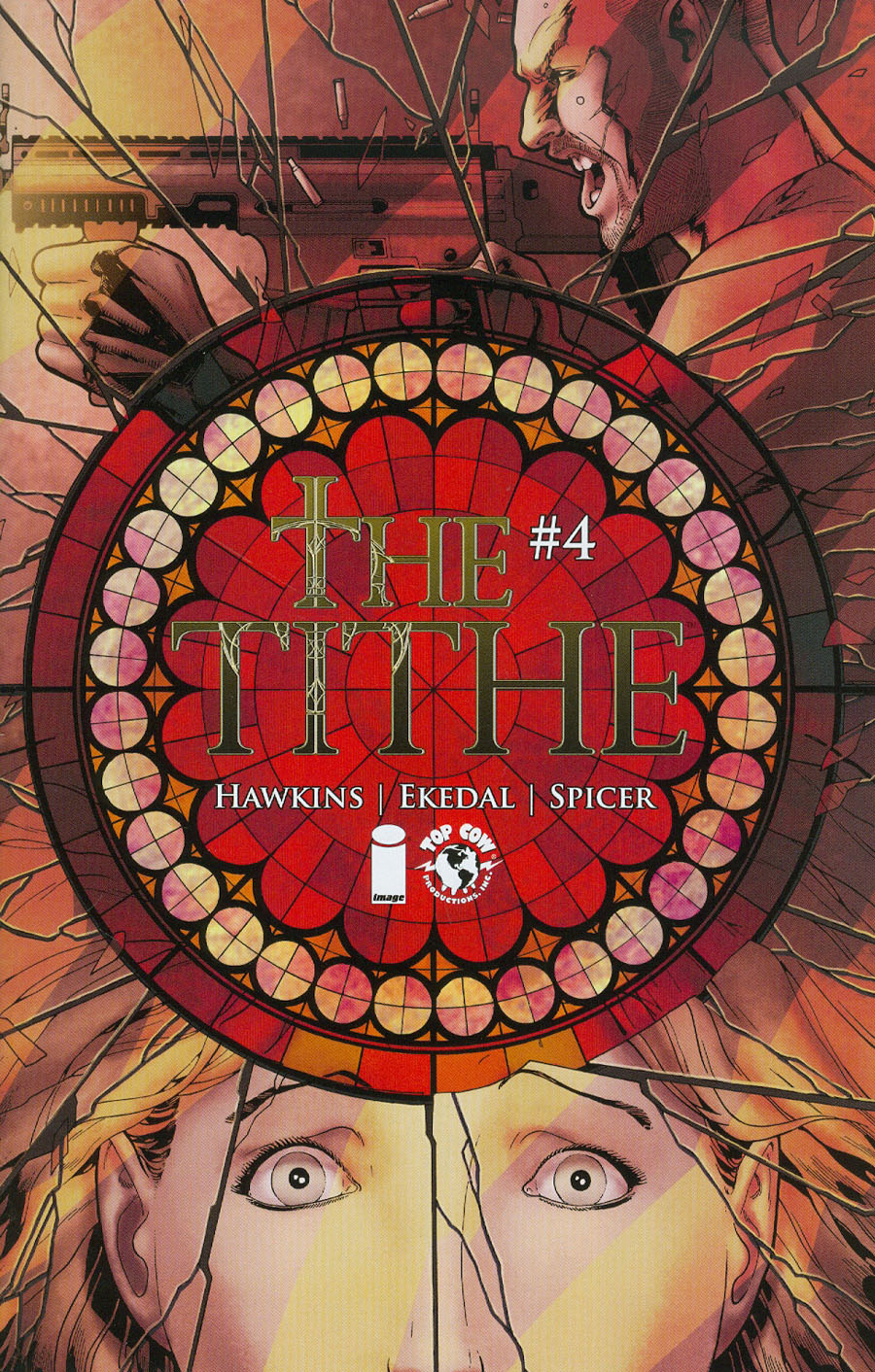 Tithe #4 Cover A Regular Rahsan Ekedal Cover