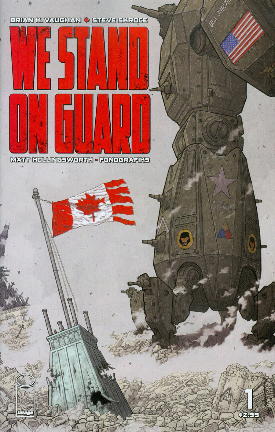 We Stand On Guard #1 Cover A 1st Ptg