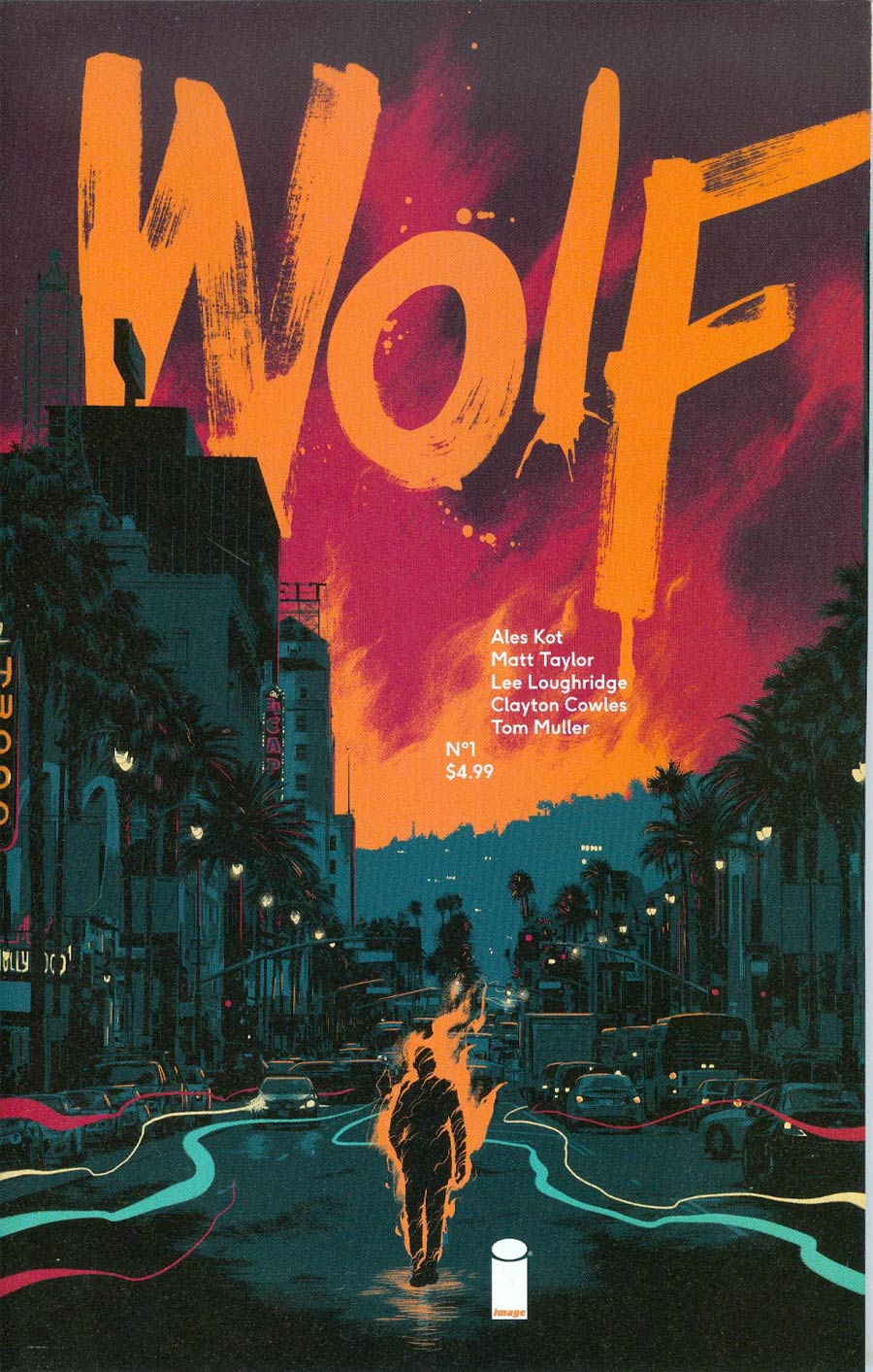 Wolf #1 Cover A 1st Ptg