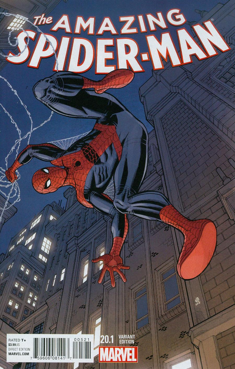 Amazing Spider-Man Vol 3 #20.1 Cover B Variant Nick Bradshaw Cover