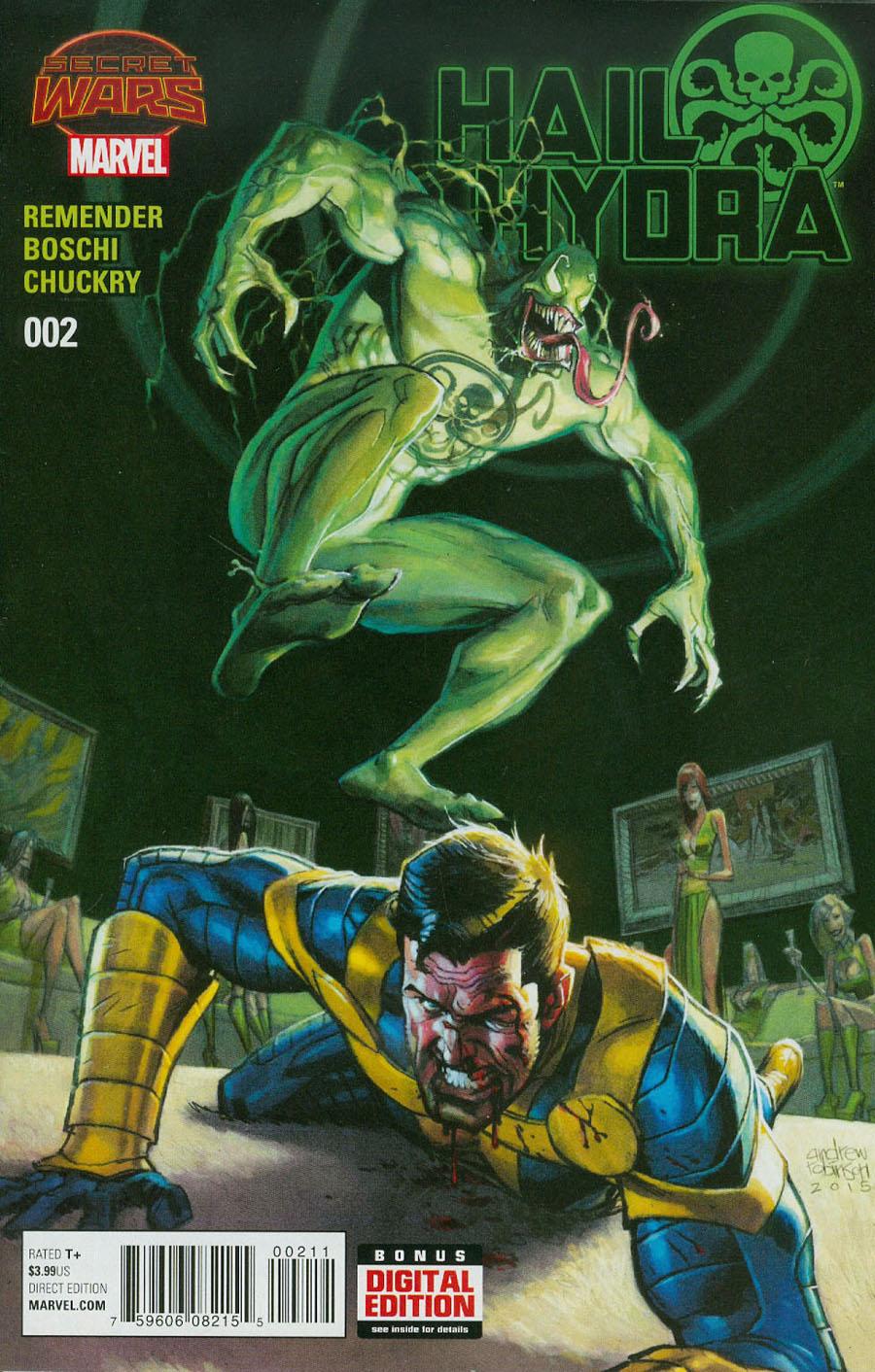 Hail Hydra #2 Cover A Regular Roland Boschi Cover (Secret Wars Warzones Tie-In)