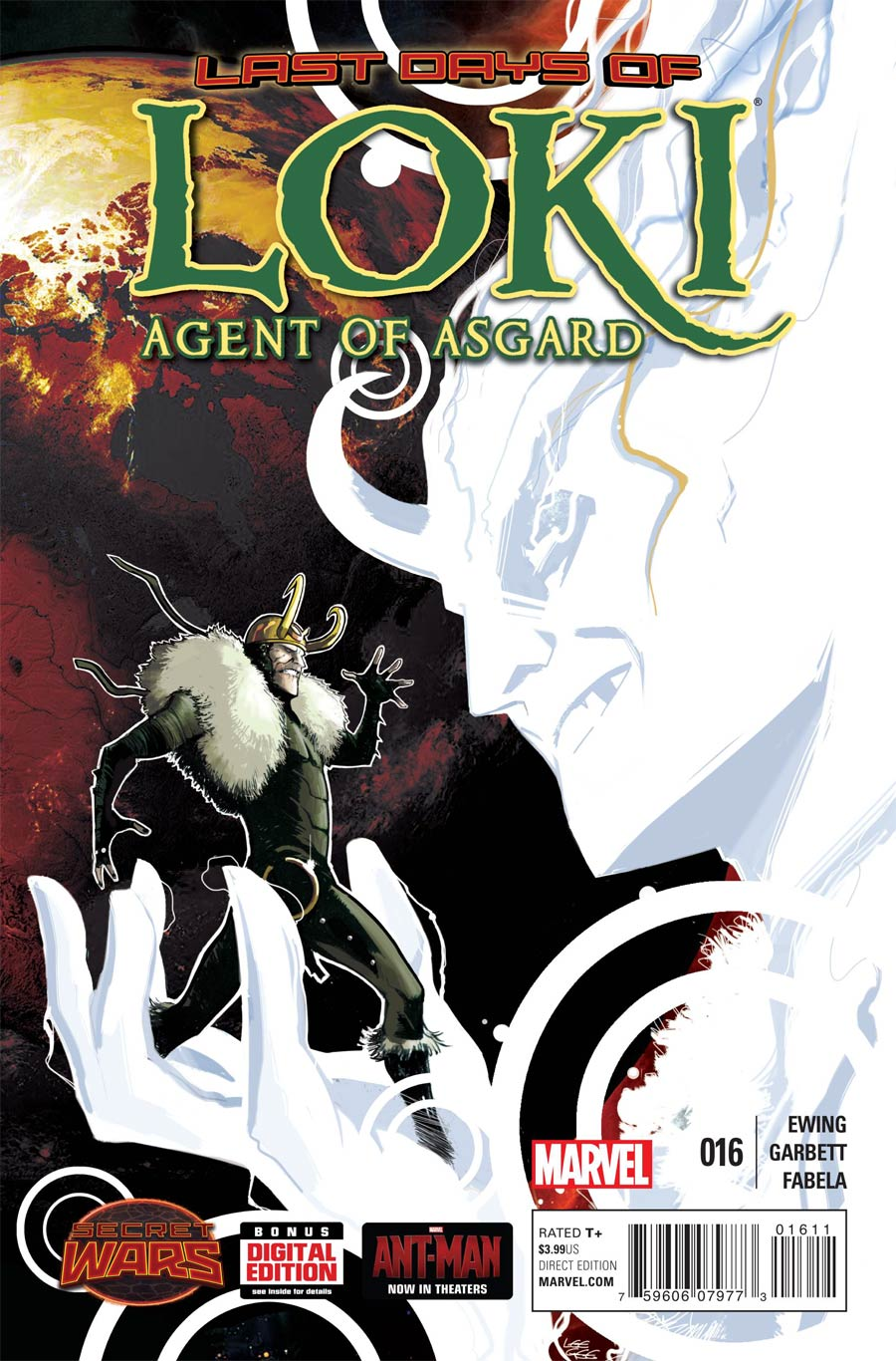 Loki Agent Of Asgard #16 (Secret Wars Last Days Tie-In)