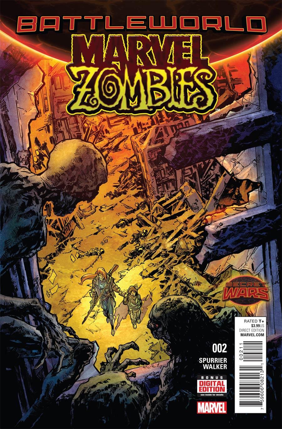 Marvel Zombies Vol 6 #2 Cover A Regular Ken Lashley Cover (Secret Wars Battleworld Tie-In)