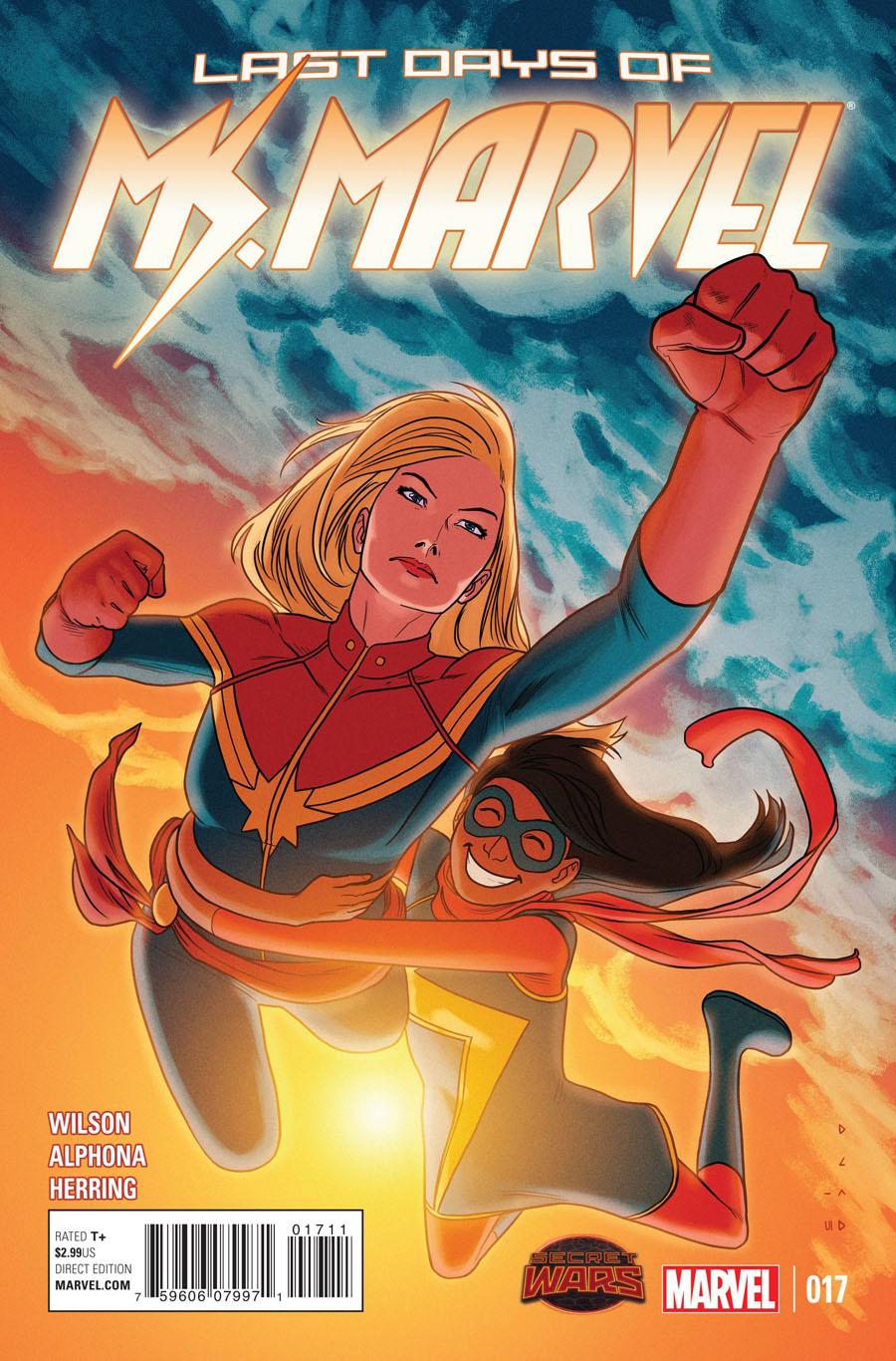Ms Marvel Vol 3 #17 (Secret Wars Last Days Tie-In)