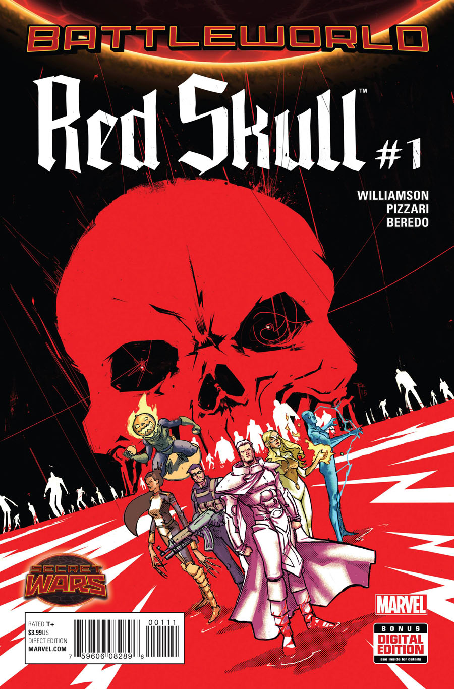 Red Skull Vol 2 #1 Cover A Regular Riley Rossmo Cover (Secret Wars Battleworld Tie-In)