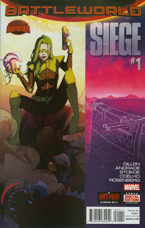 Siege (Marvel) Vol 2 #1 Cover A Regular W Scott Forbes Cover (Secret Wars Battleworld Tie-In)