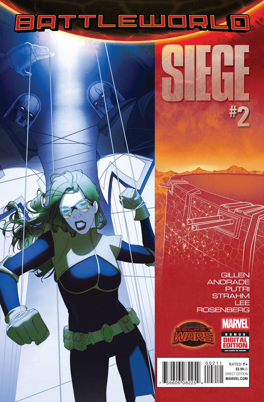 Siege (Marvel) Vol 2 #2 Cover A Regular W Scott Forbes Cover (Secret Wars Battleworld Tie-In)