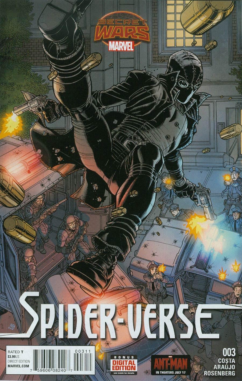 Spider-Verse Vol 2 #3 Cover A Regular Nick Bradshaw Cover (Secret Wars Warzones Tie-In)