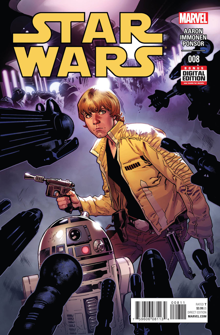 Star Wars Vol 4 #8 Cover A Regular Stuart Immonen Cover