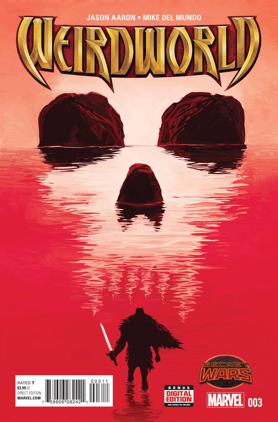 Weirdworld #3 Cover A Regular Mike Del Mundo Cover (Secret Wars Warzones Tie-In)
