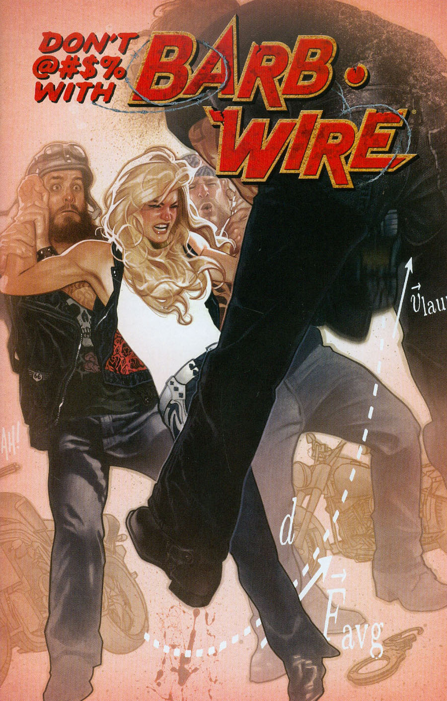 Barb Wire Vol 2 #1 Cover B Variant Adam Hughes Cover