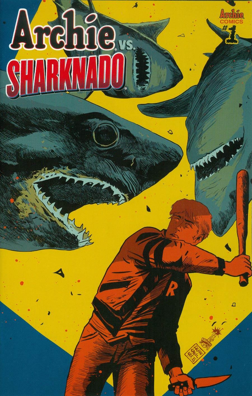 Archie vs Sharknado One Shot Cover B Variant Francesco Francavilla Cover