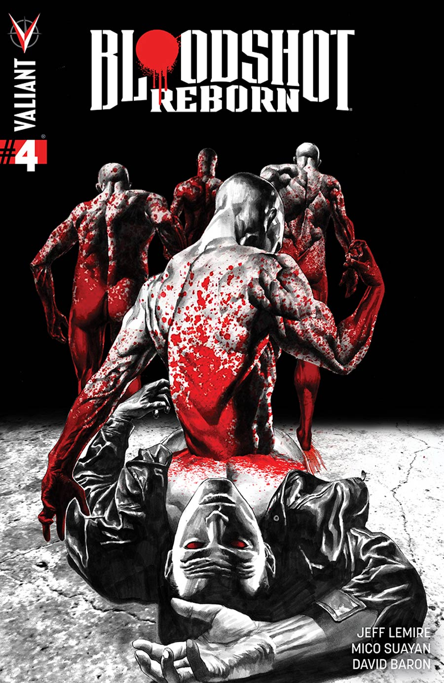 Bloodshot Reborn #4 Cover A 1st Ptg Regular Mico Suayan Cover