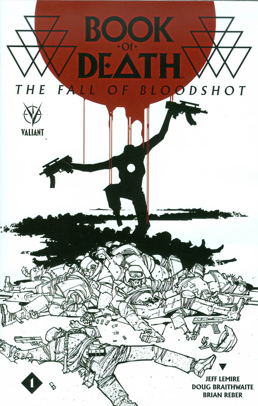 Book Of Death Fall Of Bloodshot #1 Cover B Variant Jefta Palo Cover
