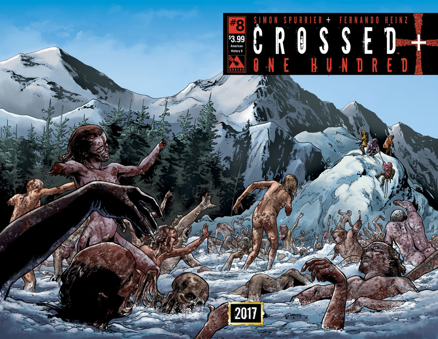 Crossed Plus 100 #8 Cover B American History X Wraparound Cover