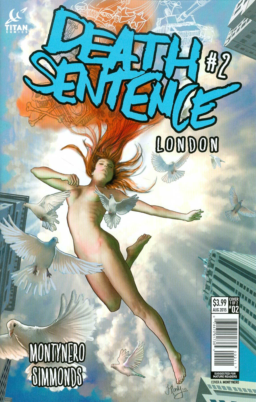 Death Sentence London #2 Cover A Regular Montynero Cover