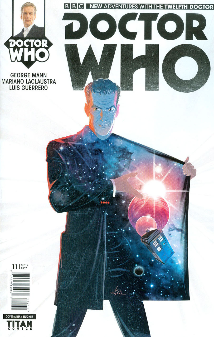 Doctor Who 12th Doctor #11 Cover A Regular Rian Hughes Cover