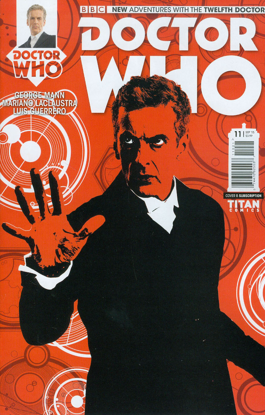 Doctor Who 12th Doctor #11 Cover B Variant Photo Subscription Cover