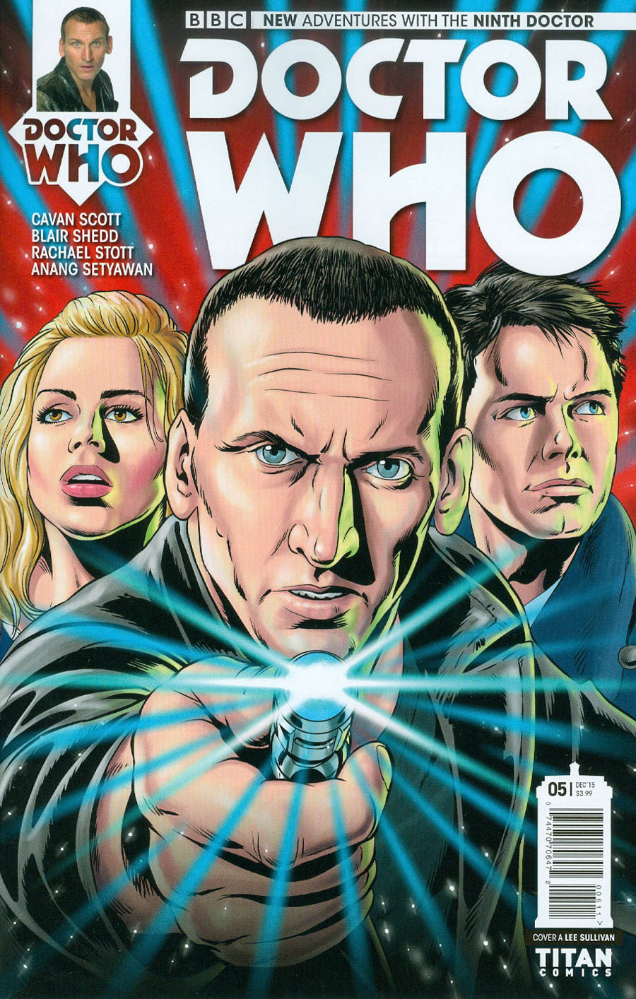 Doctor Who 9th Doctor #5 Cover A Regular Lee Sullivan Cover