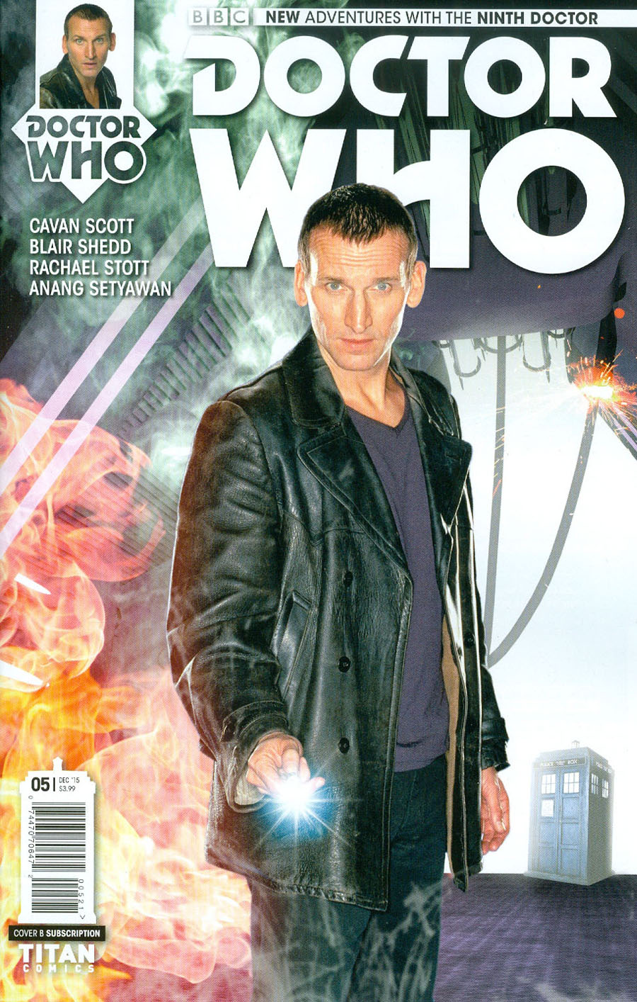Doctor Who 9th Doctor #5 Cover B Variant Photo Subscription Cover