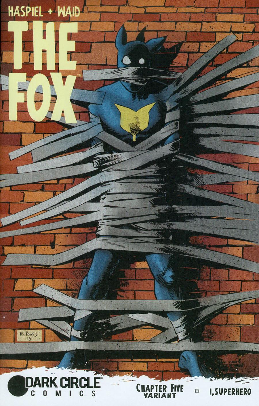 Fox Vol 2 #5 Cover D Variant Eli Powell Cover
