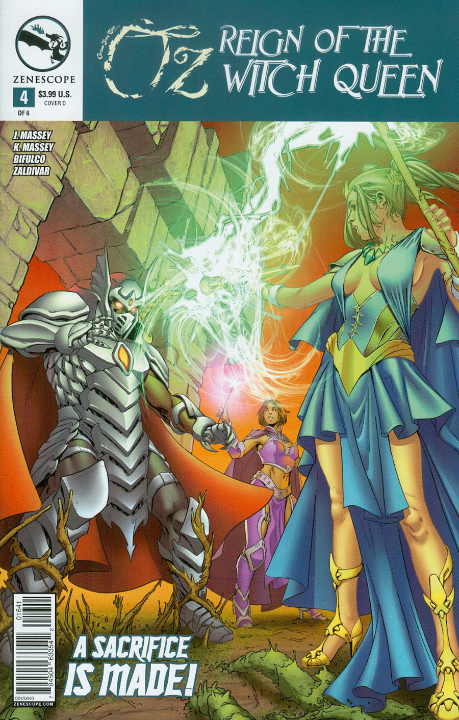 Grimm Fairy Tales Presents Oz Reign Of The Witch Queen #4 Cover D Antonio Bifulco