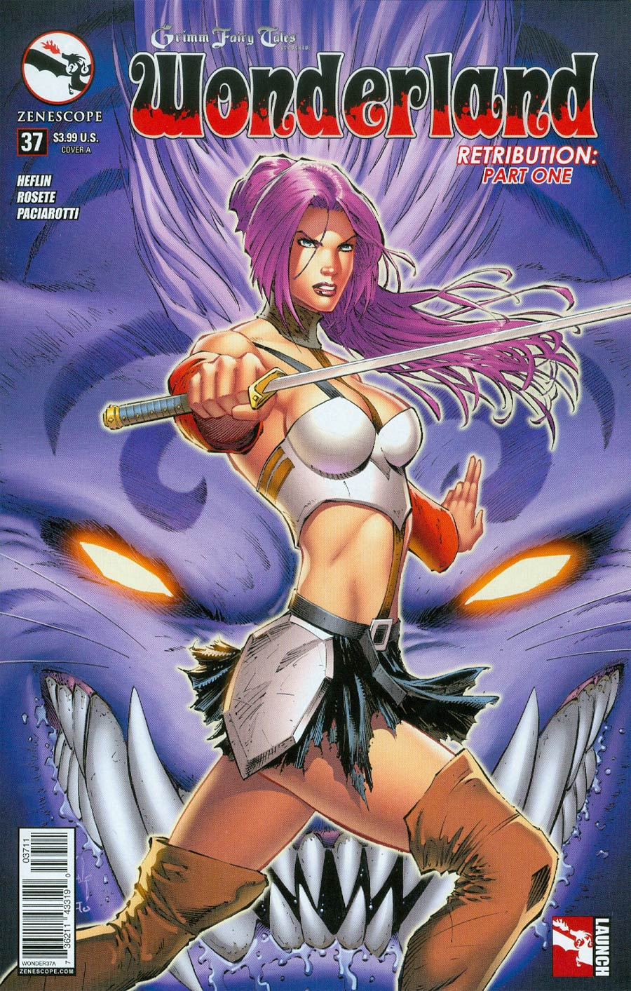 Grimm Fairy Tales Presents Wonderland Vol 2 #37 Cover A Jason Metcalf