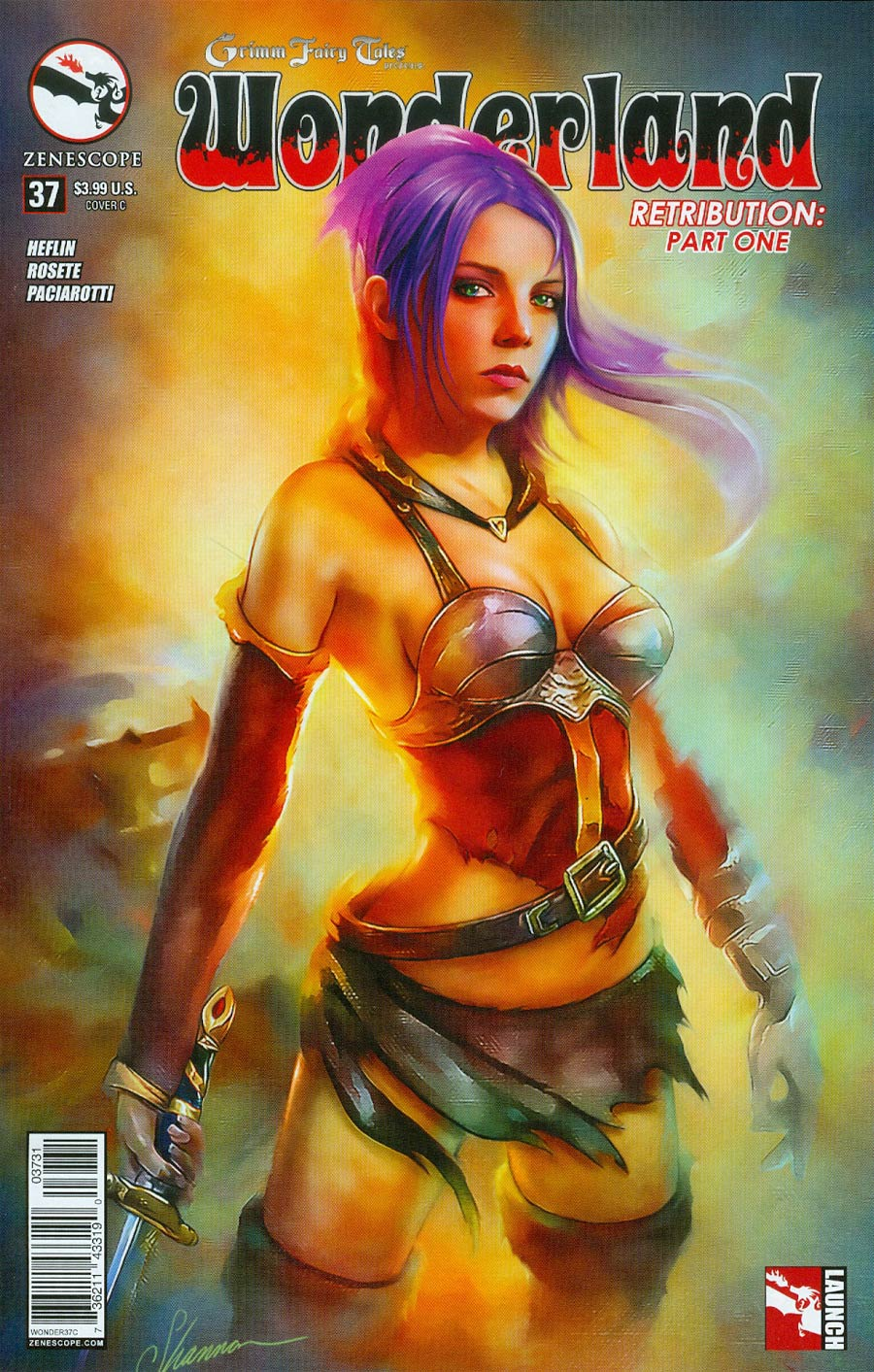 Grimm Fairy Tales Presents Wonderland Vol 2 #37 Cover C Shannon Maer