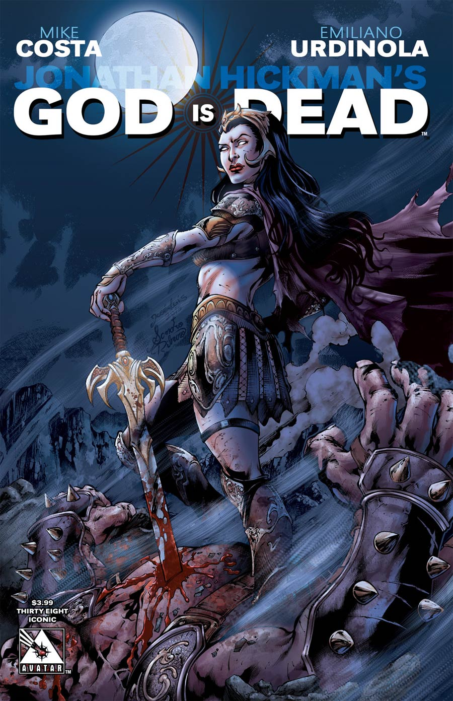God Is Dead #38 Cover B Iconic Cover
