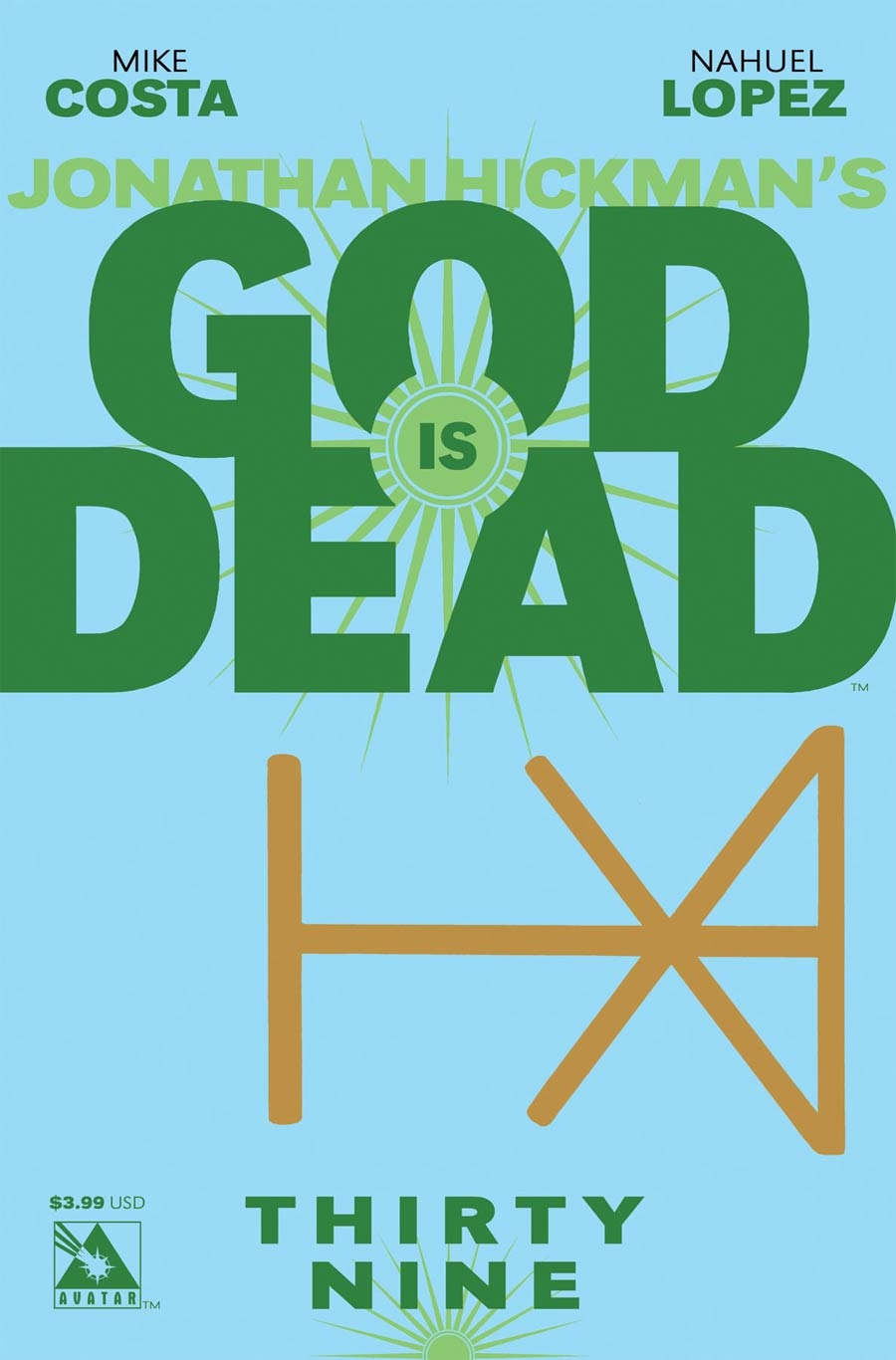 God Is Dead #39 Cover A Regular Cover