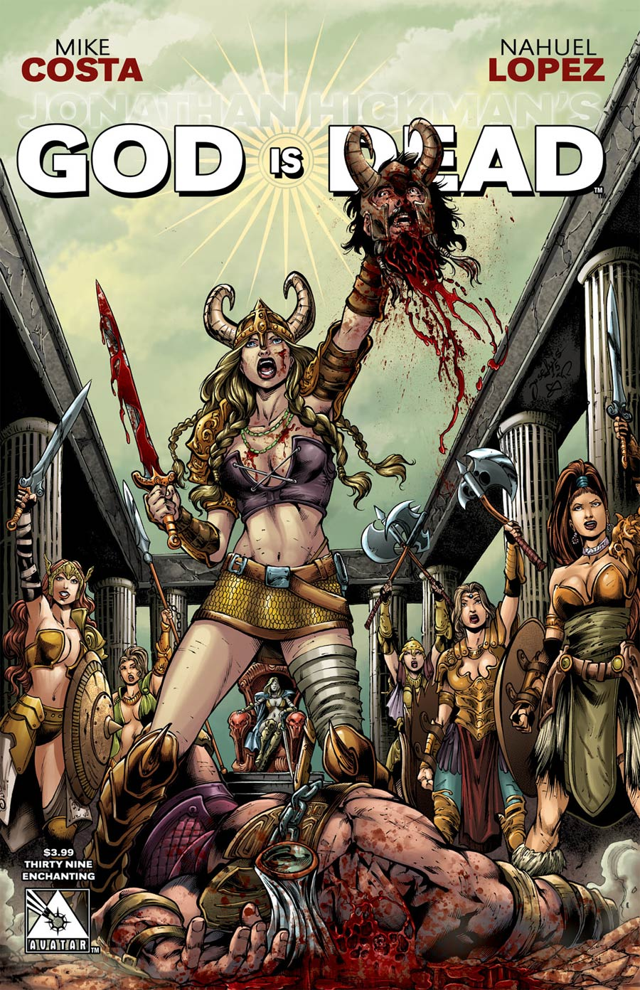 God Is Dead #39 Cover E Enchanting Cover