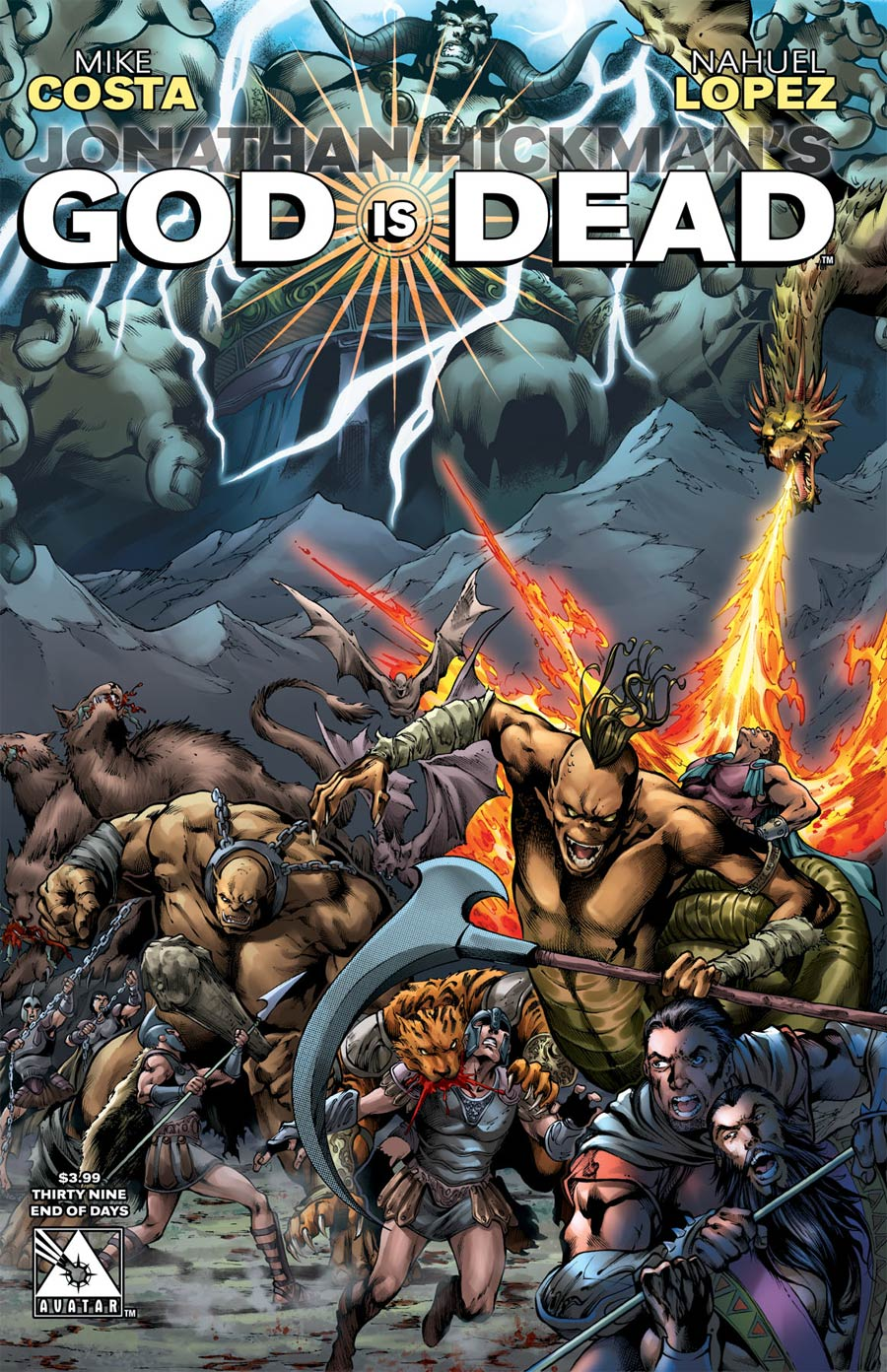 God Is Dead #39 Cover D End Of Days Cover
